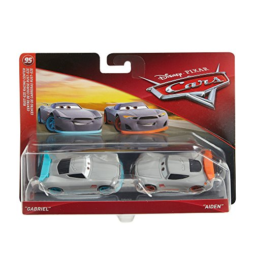 Disney Cars Character Car 49 & Trainee #3 Toy Vehicle (2 Pack)