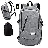 Best KAKA Work Backpacks - Oak-Pine Multi-functional 15.6 inch Laptop iPad Backpack Oxford Review