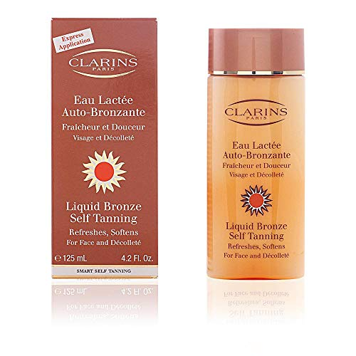 Gel Face Clarins - Liquid Bronze Self Tanning By Clarins for Unisex, 4.2 Ounce