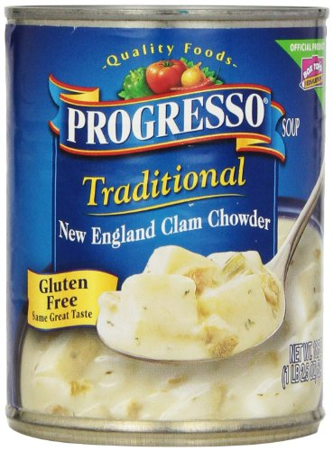 Progresso New England Clam Chowder, 8 Count ()