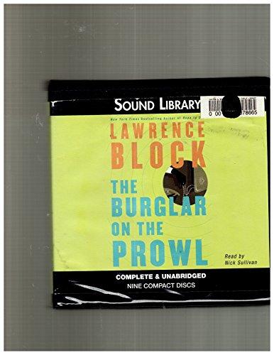The Burglar on the Prowl (Bernie Rhodenbarr Mysteries)