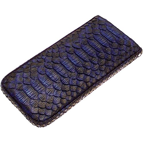 Genuine Python Snake leather case Handmade Sleeve with Strap for Apple iPhone X 8 Plus Samsung Galaxy S (Handmade Snake)