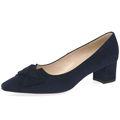 new concept 87e53 b197e Amazon.com   Peter Kaiser Women's Blia Suede Court Shoes 4.5 ...
