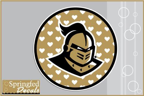 UCF Knights KNIGHT on GOLD HEARTS CIRCLE 4