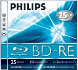 Philips BD-RE - 25 GB - Jewel Case (Schachtel)