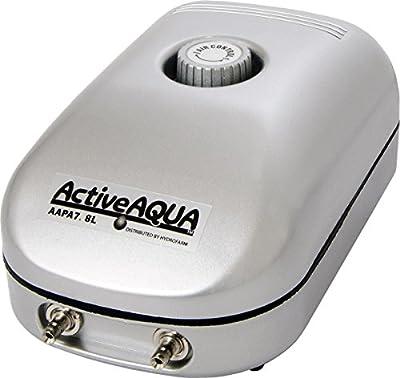 Active Aqua Air Pump, 1 Outlet, 2W, 3.2 L/min