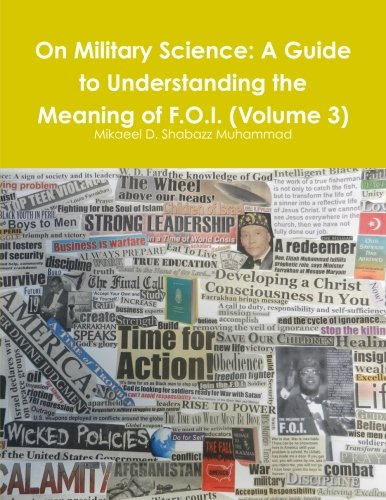 On Military Science: A Guide to Understanding the Meaning of F.O.I. (Volume 3)