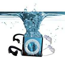 Underwater Audio Waterproof iPod, Mega Bundle, Mega-Blu, Blue