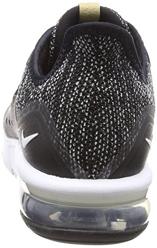 011 Grey Noir Max Nike white Air Homme Chaussures dark Running 3 De Sequent black TqUpO