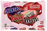 MARS Chocolate Valentine's Fun Size Candy Bar Variety Mix 16.20-Ounce Bag (Pack of 4)