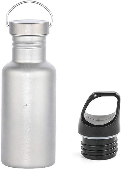 Sport Wasserflasche Titanlegierung Flasche BPA-freie Trinkflasche