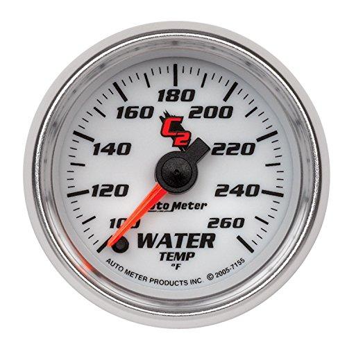 Auto Meter 7155 C2 Full Sweep Electric Water Temperature - Sweep C2 Full