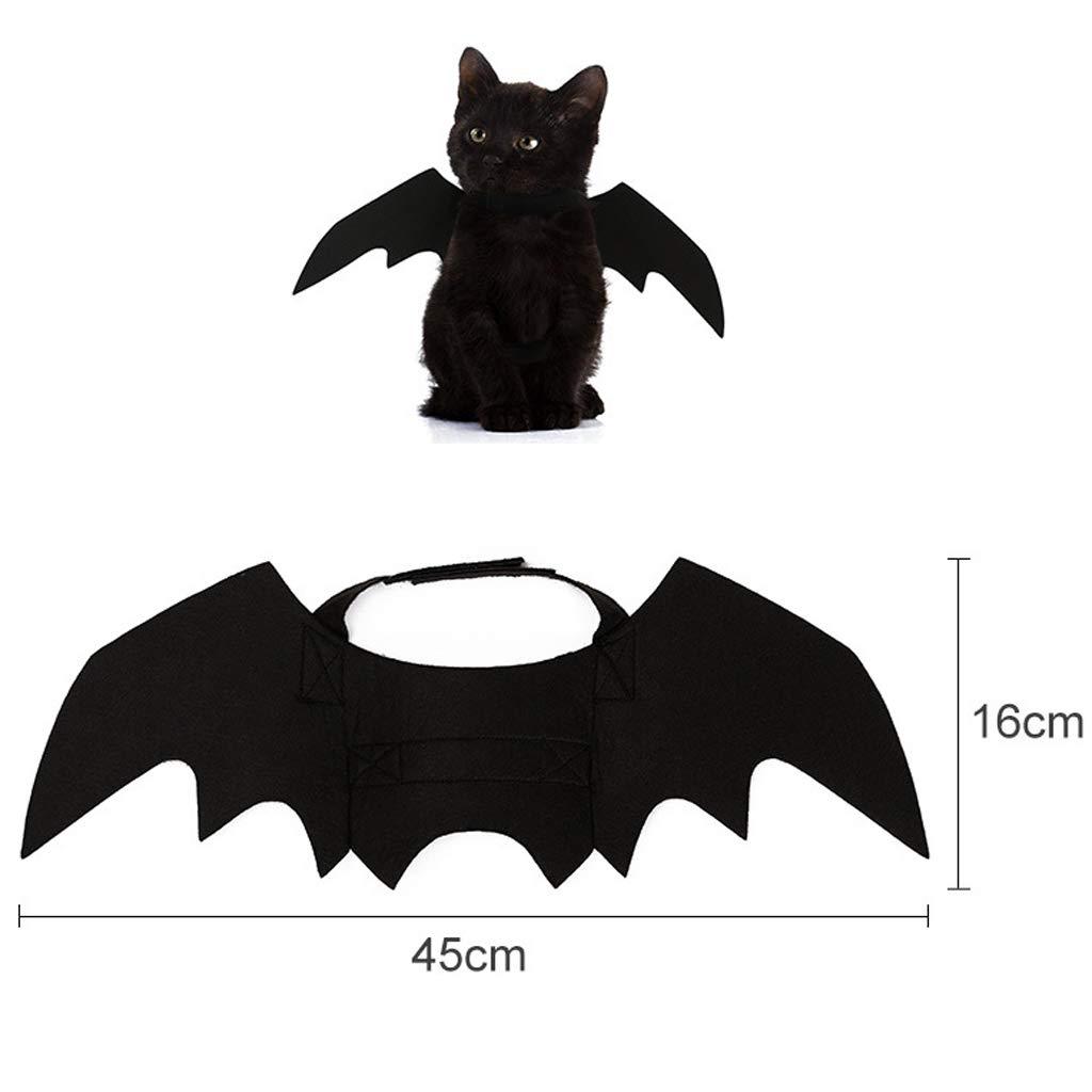 D DOLITY Katze Fledermaus Flügel für Halloween