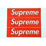 3枚セット 定番 SUPREME(シュプリーム)ステッカー ボックスロゴ