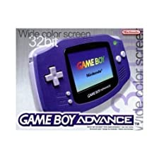 Game Boy Advance Console In Indigo