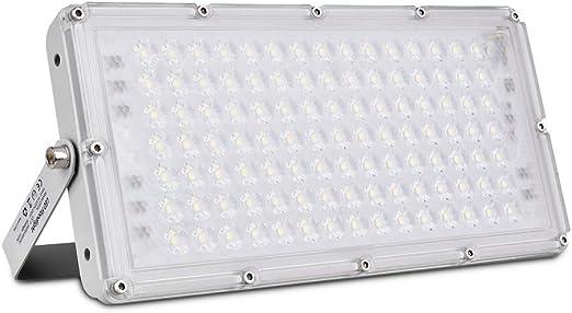 Sararoom Faretto LED Esterno 200w IP66 Lampada LED Impermeabile Luce Proiettore Allaperto Rettangolare Rotazione di 180 /° Per Giardino Cortile Fabbrica