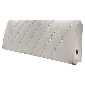 Amazon.com: Cojín tapizado para cabecero de cama, cuña ...