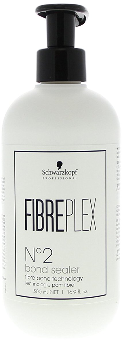 Schwarzkopf Professional FibrePlex N°2 Bond Sealer Deep Hair Treatment After Bleaching, Colour Lifting and Colouring (Seals The Outer Surface for Long-Lasting Strength, Suppleness and Shine) 17 oz by Schwarzkopf
