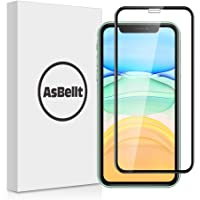 AsBellt Compatibile per Pellicola Vetro iPhone 11/iPhone XR, Pellicola 3D Vetro Temperato Affidabile [con Strumento per Applicare] Resistente ai Urti per 6.1 Pollici iPhone 11/iPhone XR