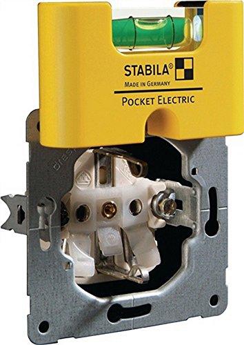 Wasserwaage Mini a. Kunststoff Pocket Electric 6,8cm