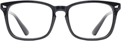 TIJN Neu Blaulichtfilter Brillen Anti blaulicht Damen Herren Brillen ohne sehst/ärke Computer Brillen Gaming Brillen f/ür PC Handy und Fernseher