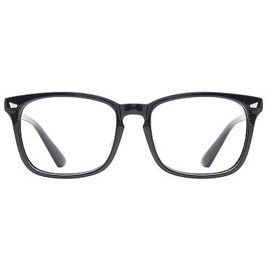TIJN Blaulichtfilter Brillen Anti blaulicht Damen Herren Brillen ohne sehst/ärke Computer Brillen Gaming Brillen f/ür PC Handy und Fernseher