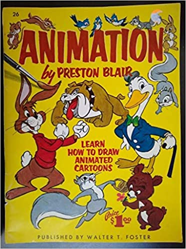 Crafts Animation By Preston Blair Published By Walter T Foster Art Supplies