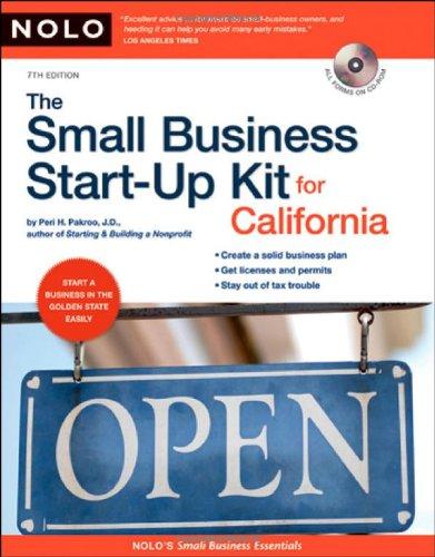 Small Business Start-Up Kit for California