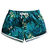 Women's Quick Dry Tropical Rain Forest Beach Shorts Casual Stylish Printing Board shorts