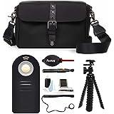 Ona - The Bowery - Camera Messenger Bag - Black Nylon (ONA014NYL) & Photographer039;s Accessory Kit