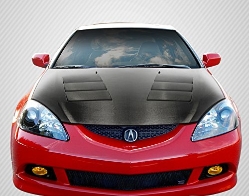 Carbon Creations Replacement for 2002-2006 Acura RSX DriTech TS-1 Hood - 1 Piece