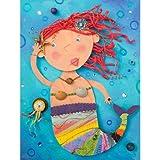 Mermaid Treasures Canvas Art