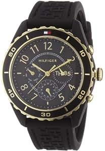 Tommy Hilfiger 1781103 - Reloj de Señora movimiento de quarzo, correa de plástico color negra