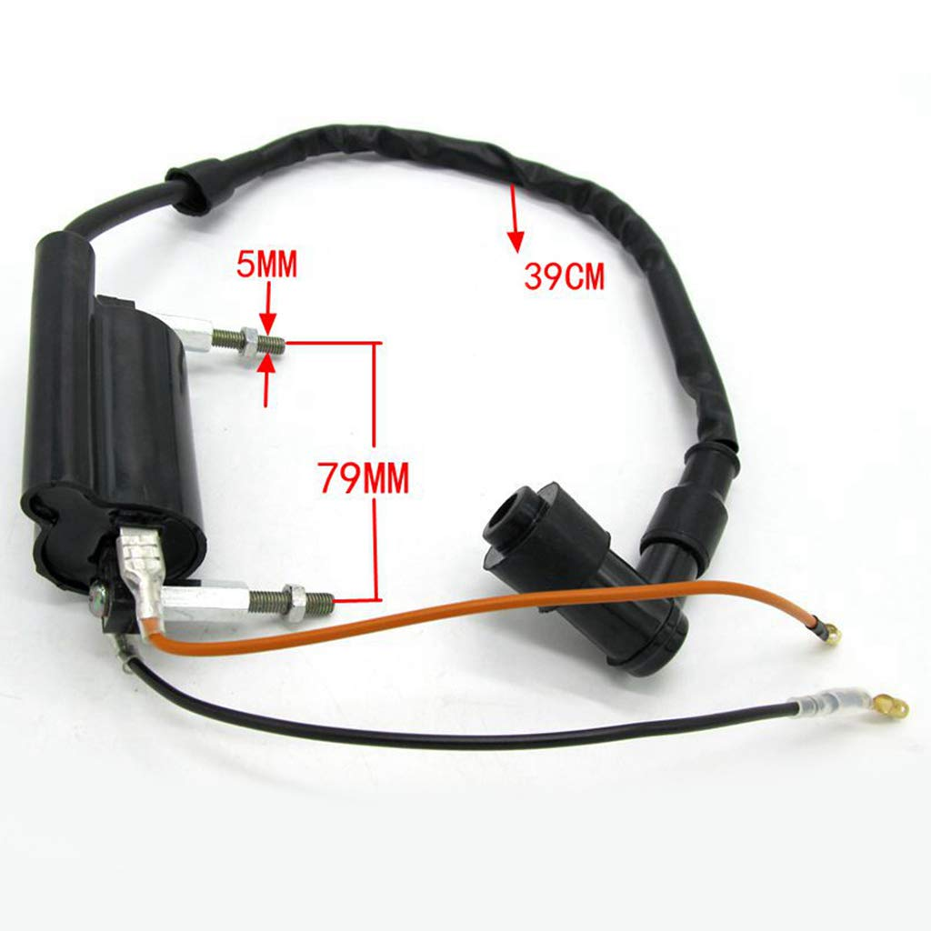 Replaces OEM# 21121-1264 21160-1089 External Ignition Coil for Kawasaki KLF 300 1988-2004