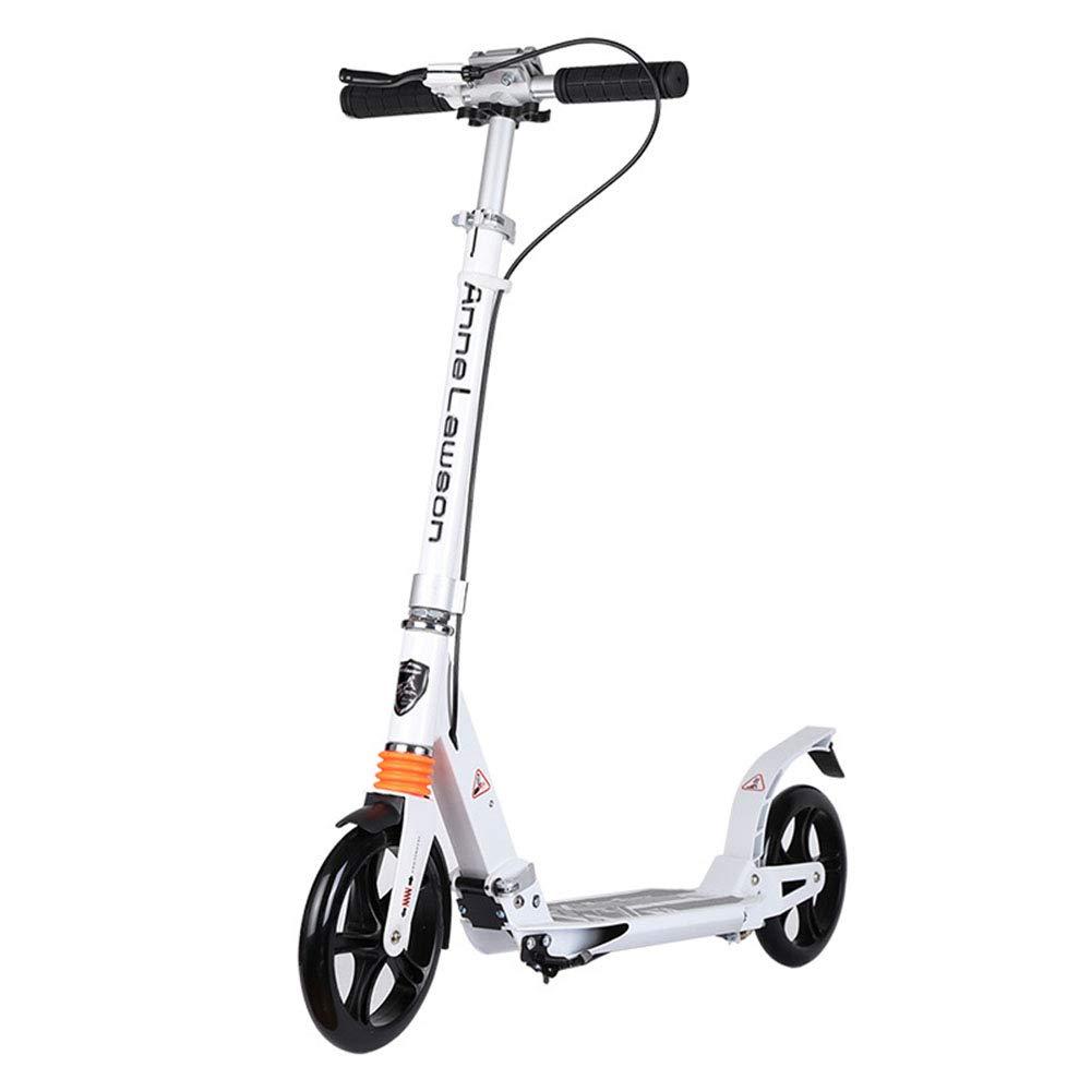 キックスクーター 子供のためのスクーター、全アルミニウム大人のペダルのスクーターの大きい車輪の二輪大人のスクーター B07Q3YBBHC 白 B07Q3YBBHC, blancdejuillet ブランドジュリエ:e781947c --- ferraridentalclinic.com.lb
