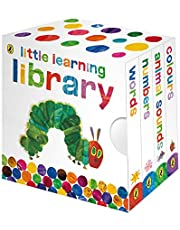 VERY HUNGRY CATERPILLAR LITTLE LEARNING LIBRARY,THE (The Very Hungry Caterpillar)