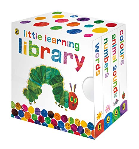 The Very Hungry Caterpillar: Little Learning Library Board book – 5 Mar. 2009