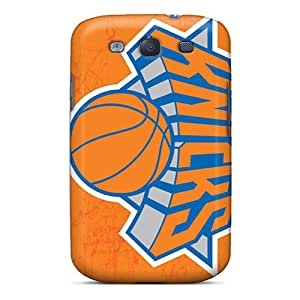 Fashion Tpu Case For Galaxy S3- New York Knicks Defender Case Cover