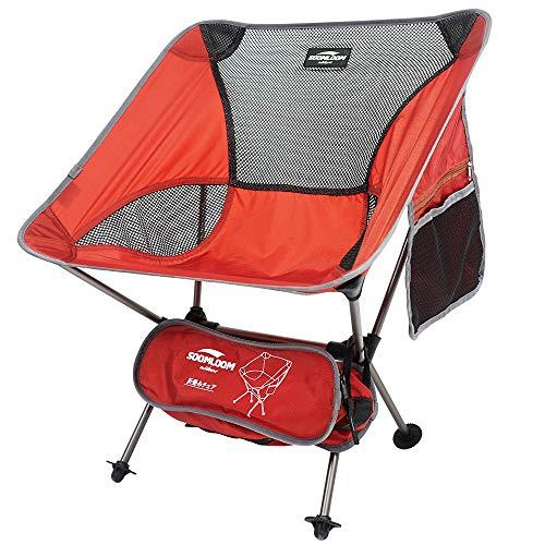 <캠핑용품> Soomloom초 경량 체어 접이식 의자  (색상 : 엔지, 블루, 화이트)