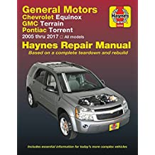 GM: Chevrolet Equinox (05-17), GMC Terrain (10-17) & Pontiac Torrent (06-09) Haynes Repair Manual