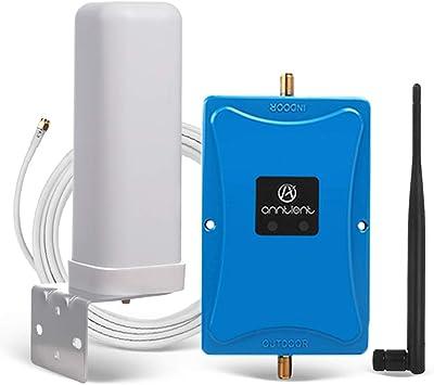 Anntlent Dual Bande Amplificateur De Signal Mobile 4g Lte 800 2600mhz Booster Répéteur 4g Pour Maison Bureau Divers Opérateurs Des Réseaux Amazon Fr High Tech