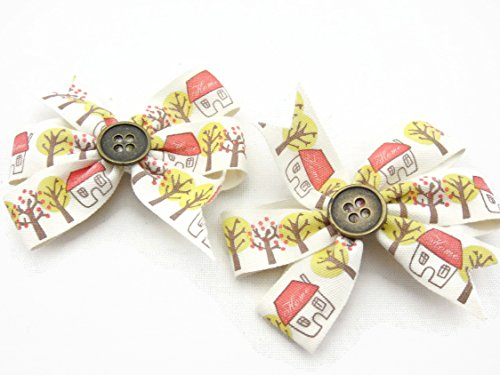 hair-clip-ribbon-bow-girl-accessories-decoration-street-home