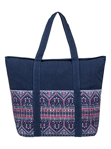 Roxy Womens Folk Singer - Beach Tote Bag - Women - One Size - Multicolor China Blue New Maiden Swim One Size by Roxy (Image #2)