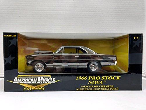 Ertl American Muscle 36673 1966 Pro Stock Nova 1:18 Scale Die Cast Replica