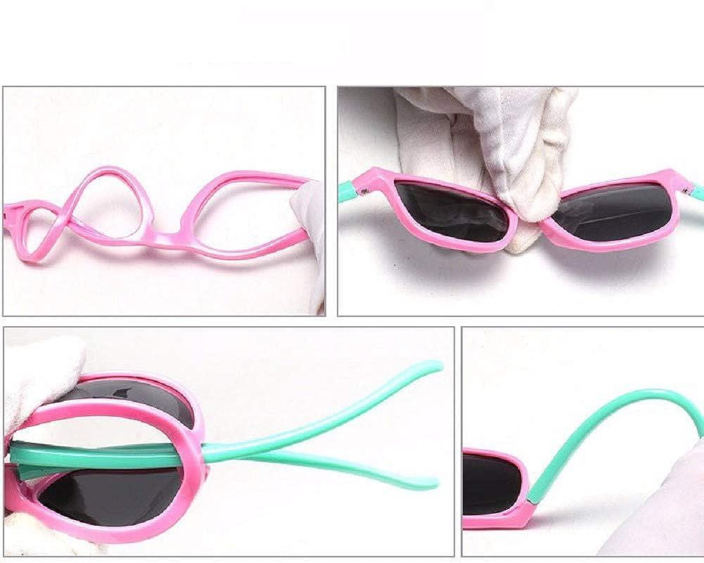 Flyfish Gafas de sol geniales para ni/ños Gafas de sol para ni/ños Ni/ños Chicas Sunglass UV 400 Protecci/ón con estuche Regalo para ni/ños