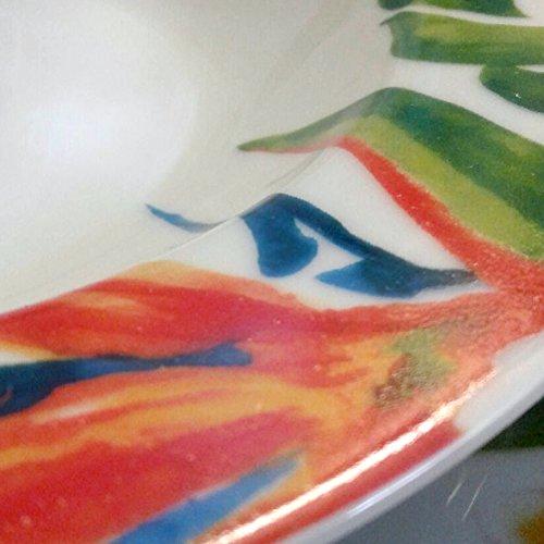 Tognana - vajilla de 18 piezas alexia, Porcelana, Multicolor: Amazon.es: Hogar