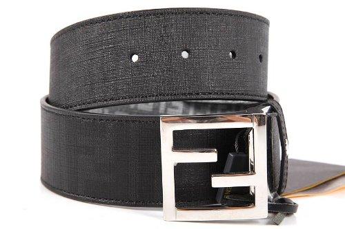 design di qualità 23e32 89484 Fendi cintura uomo in pvc reversibile nero Cod ...