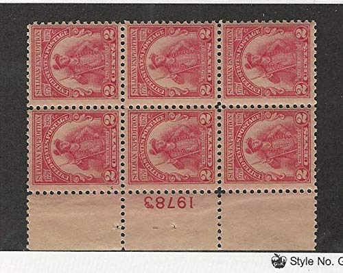 United States, Postage Stamp, 657 Mint (1 stamp hinged, others NH), JFZ
