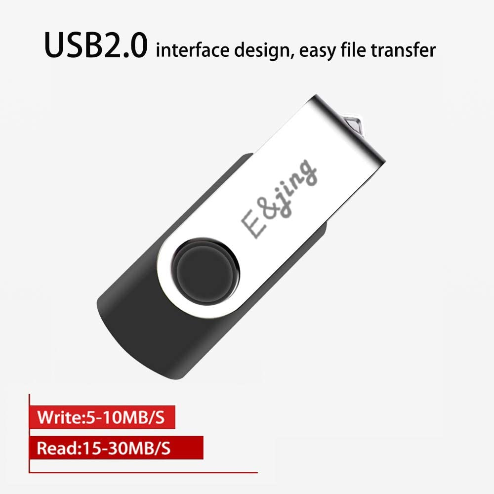 USB Flash Drive 1TB USB 2.0 Thumb Drive with Rotated Design 1000GB Memory Stick for Store Photos//Videos//Music//Files E/&jing 1TB USB Drive Compatible with Computer Laptop