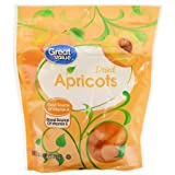 Dried Apricots, 6 oz,pack of 5